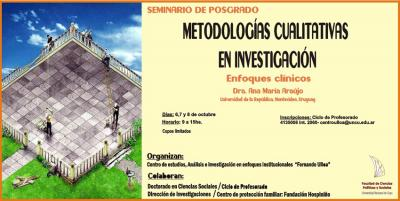 Curso de Posgrado: Metodologías Cualitativas en Investigación. Enfoques Clínicos