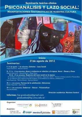 Seminario: Psicoanálisis y Lazo Social